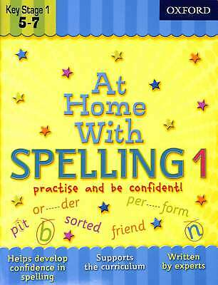At Home With... 8 Book Collection: Ages 5-7 - RRP 31.92: Phonics, Maths, Times T