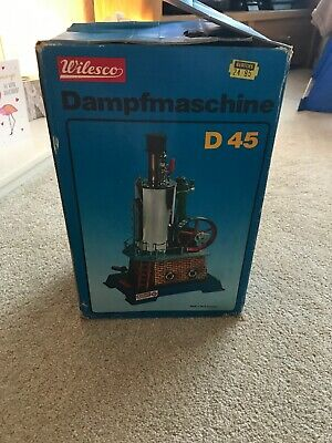 Wilesco Dampfmaschine D45 Collectible