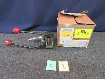 "Fromm Manual Strapping Tool 330 Military Surplus Shipping Packing 1/2"" Used"