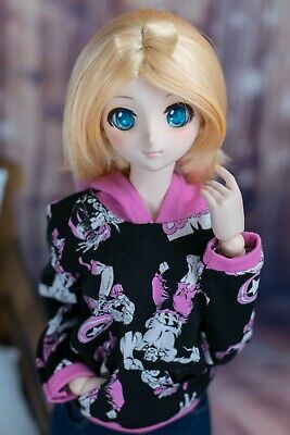 1//3 BJD Clothes Smart Doll Dollfie Dream DD DDdy Rainbow Owl Fleece