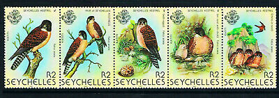 $6.00 Value - SEYCHELLES KESTRELS 1980 - Stamp Sale! MNH NH Combined Shipping