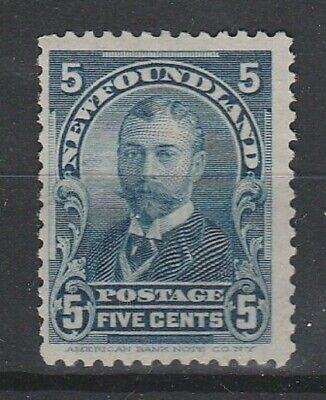 1899 NEWFOUNDLAND 5c KING GEORGE V DEFINITIVE SG 226 L/M/MINT