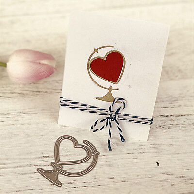 1Pc Love Ornaments Metal Cutting Dies For DIY Scrapbooking Album Paper Card HICA