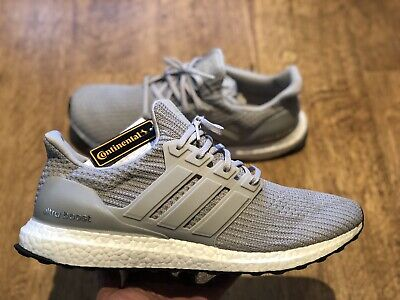 ADIDAS ULTRA BOOST Grey Uk 12.5 New With Tags 100% Authentic