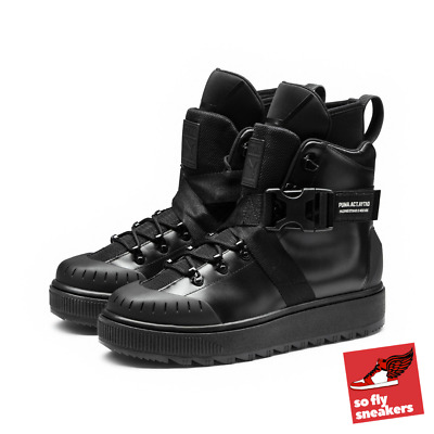 8121f998bd895 PUMA X OUTLAW Moscow Ren Boot | Size UK 8 | Black | Limited Edition | Rare