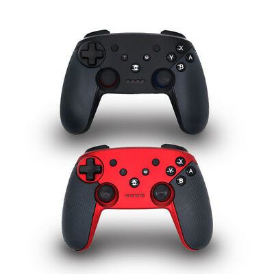 LX_ Dual Shock Wireless Bluetooth Controller Gamepad for Switch Console Str