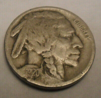 """1920 P INDIAN HEAD /""""BUFFALO/"""" NICKEL  *AG OR BETTER*  **FREE SHIPPING**"""