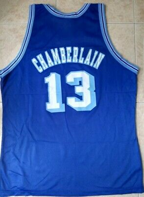 Champion Los Angeles Lakers Wilt Chamberlain NBA  50 jersey Gold logo XL 48   13 9dff3d562