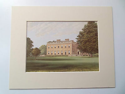 GODALMING PEPER HARROW SURREY ANTIQUE PRINT DATED 1880- 10in x 8in MOUNT