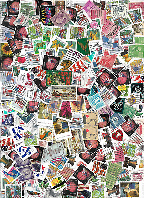 1 ounce of used stamps - free shipping in the U.S., discounted worldwide (117)