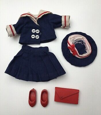 Sailor outfit for Penny Brite doll complete but some TLC