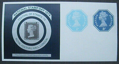 Großbritannien National Stamp Day 1974