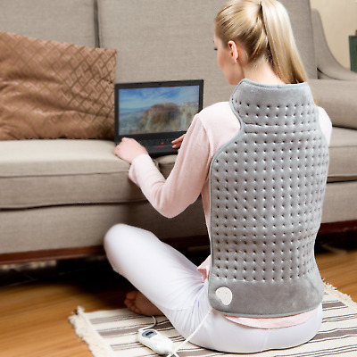Hangsun Heating Pad Electric for Back Neck Shoulder Pain Relief TP260 Hot...