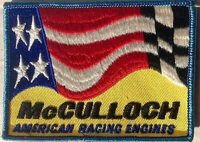 Vintage McCullock Racing Patch 1970's