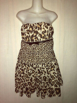 248d88b55528 Giambattista Valli For Impulse Animal Print Dress, Size 10, Macys Exclusive
