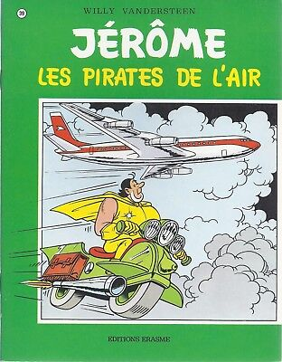 BD  Jérôme- Les pirates de l'air  - N°39 - Re- 1977 -TBE -Vandersteen