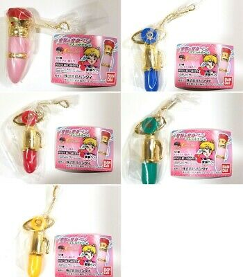 Gashapon Sailor Moon disguise and transformation pen Mascot Charm whole set of 5