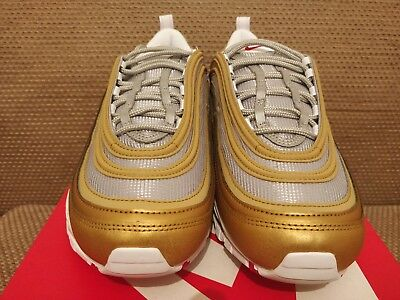 364daf5425 LIMITED RARE NIKE Gold Reflective Air Max 97 PRE (UK8) (RRP 145 ...