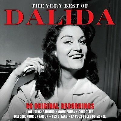 Dalida - The Very Best Of / Greatest Hits 2CD NEW/SEALED