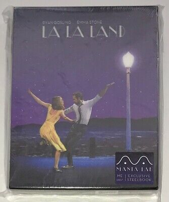 MANTA LAB | LA LA LAND | Blu-Ray |Steelbook | NEW | lenticular Gosling Stone