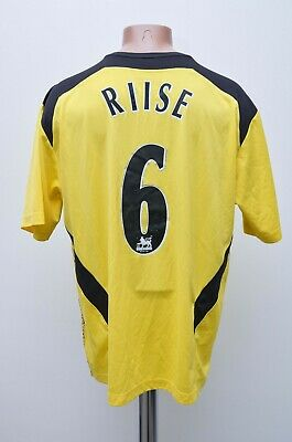 Liverpool 2004/2005 Third Football Shirt Jersey #6 Riise Reebok Size Xl Adult