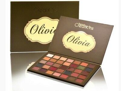 Beauty Creations Olivia Eyeshadow Palette - 35 Color Highly Pigmented - Mattes