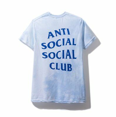 28fc8251 Anti Social Social Club LSD Turquoise Tee ASSC T-SHIRT FW 2018 Authentic In  Hand
