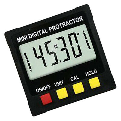 Mini LCD Digital Inclinometer Protractor Bevel Angle Gauge Magnet