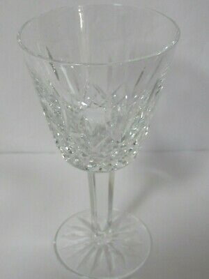 Set of 8  Vintage WATERFORD CRYSTAL LISMORE Claret / White Wine Glasses 5 7/8""
