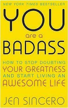 NEW You are a Badass by Jen Sincero Paperback (Free Shipping)