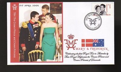 Princess Mary & Frederick 2005 Aust Royal Tour Cover 9