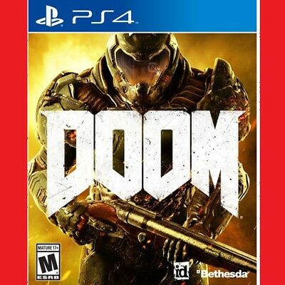 Doom (PS4) BRAND NEW Free Delivery CHEAPEST