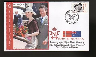 Princess Mary & Frederick 2005 Aust Royal Tour Cover 3