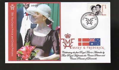 Princess Mary & Frederick 2005 Aust Royal Tour Cover 4