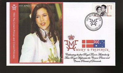 Princess Mary & Frederick 2005 Aust Royal Tour Cover 5