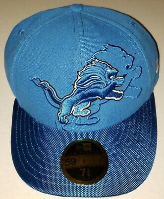 47c88efbe Detroit Lions New Era 59Fifty NFL On-Field Sideline Collection Cap Hat NWT  NEW