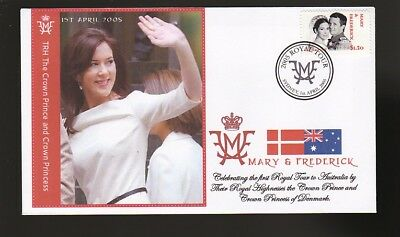 Princess Mary & Frederick 2005 Aust Royal Tour Cover 6