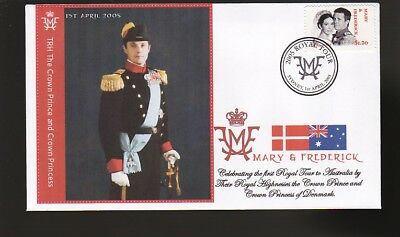 Princess Mary & Frederick 2005 Aust Royal Tour Cover 1