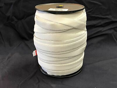 Elastic webbing 20mm high quality 100mt Roll white, sewing horse rug