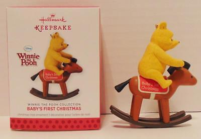 2013 BABYS FIRST CHRISTMAS Hallmark Keepsake Ornament WINNIE THE POOH COLLECTION
