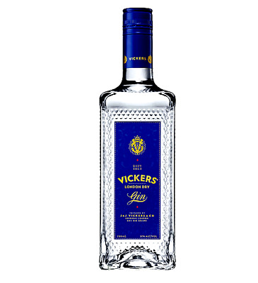 Vickers London Dry Gin 37% 700mL FAST DELIVERY & FREE SHIPPING