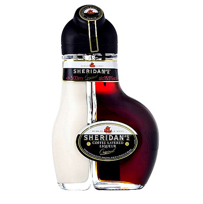 Sheridan's Coffee Layered Ireland Liqueur 15.50% 500mL FAST & FREE SHIPPING