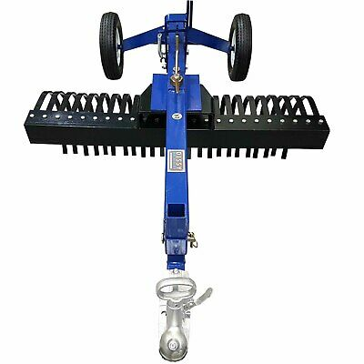 Atv Landscape Stick Rake 4Ft 1200Mm Tow Behind Utv, Ute, Quad Bike