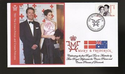 Princess Mary & Frederick 2005 Aust Royal Tour Cover 8