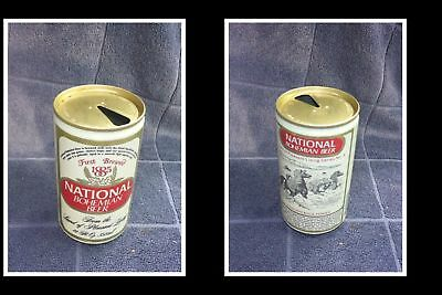 Old Collectable Usa Beer Can, National Bohemian Beer, P/L Chincoteague Ponies