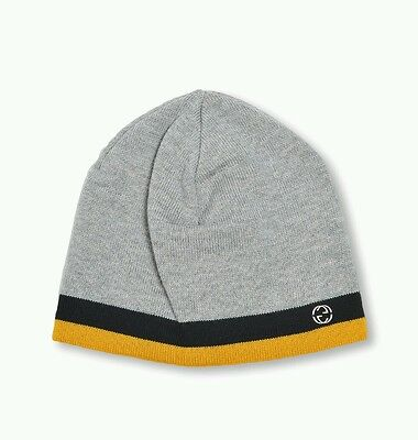 2e3959aceacfb NWT NEW GUCCI kids boys navy gray wool GG logo beanie hat S M or L ...