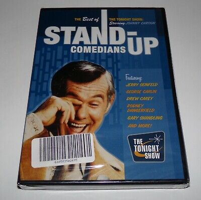 Johnny Carson Best of The Tonight Show Stand-up Comedians DVD - Brand New Sealed