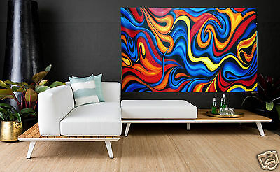 original Art oil painting abstract energy Canvas  australia