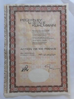 PECHINEY Ugine KUHLMANN