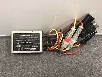 Old Pioneer Cd-229 Component Inter-connector Controller Module Adaptor Convertor
